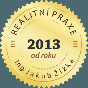 Realitní praxe od roku 2013