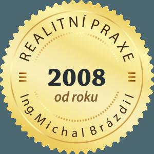 Realitní praxe od roku 2008
