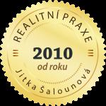 Realitní praxe od roku 2010