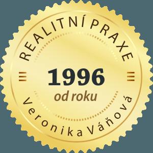 Realitní praxe od roku 1996