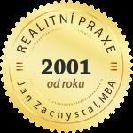 Realitní praxe od roku 2001