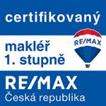 Certifikovaný makléř 1. stupně RE/MAX
