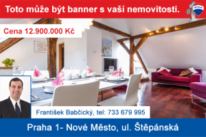 Banner s nemovitostí