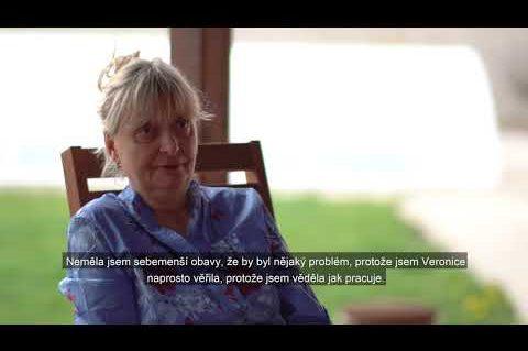 Co o práci Veroniky Váňové řekla klientka paní Van Beek