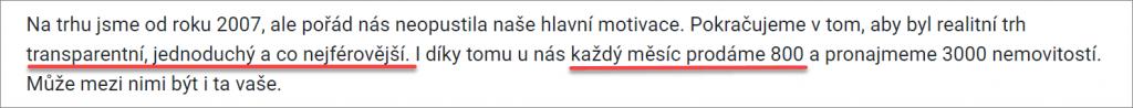 Bezrealitky.cz zveličuje data o své návštěvnosti a tržním podílu