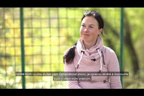 Co o službách Ing. Gabriely Červeňákové řekla paní Kubová