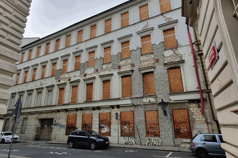činžovní dům, ul. Divadelní, Praha 1