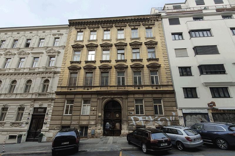 Činžovní dům, ul. Hálkova Praha 1