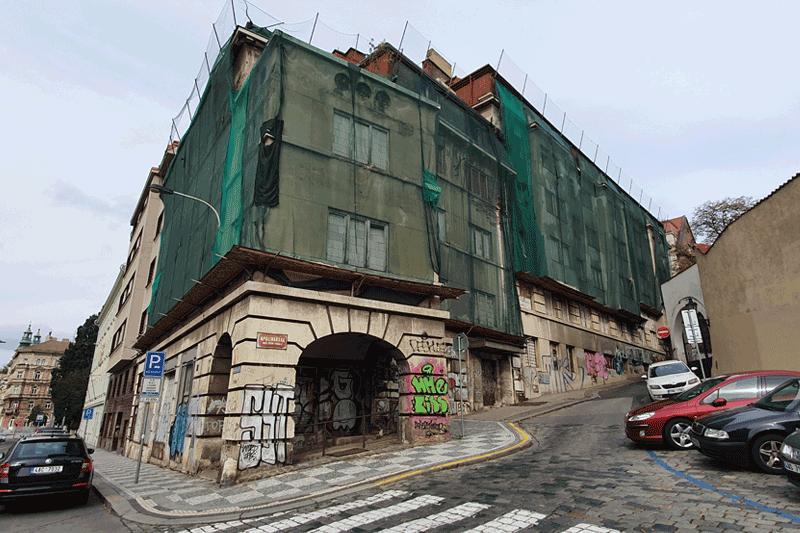 činžovní dům, ul. Na Slupy, Praha 2