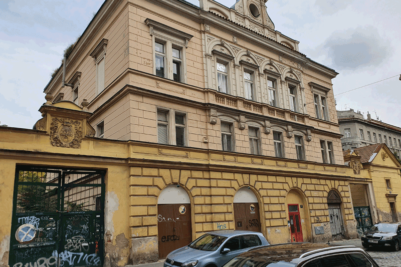 Činžovní dům, ulice Varšavská, Praha 2