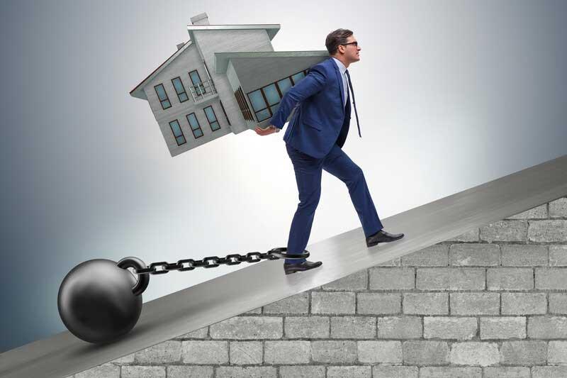 Co dělat při neschopnosti splácet hypotéku