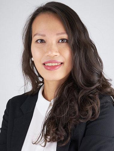 realitní makléřka Huong Ngo