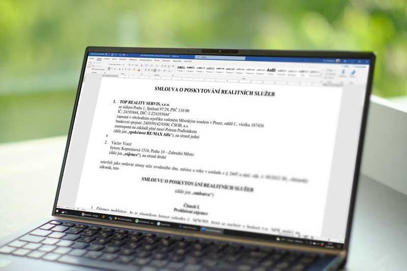 Typy zprostředkovatelských smluv s realitní kanceláří